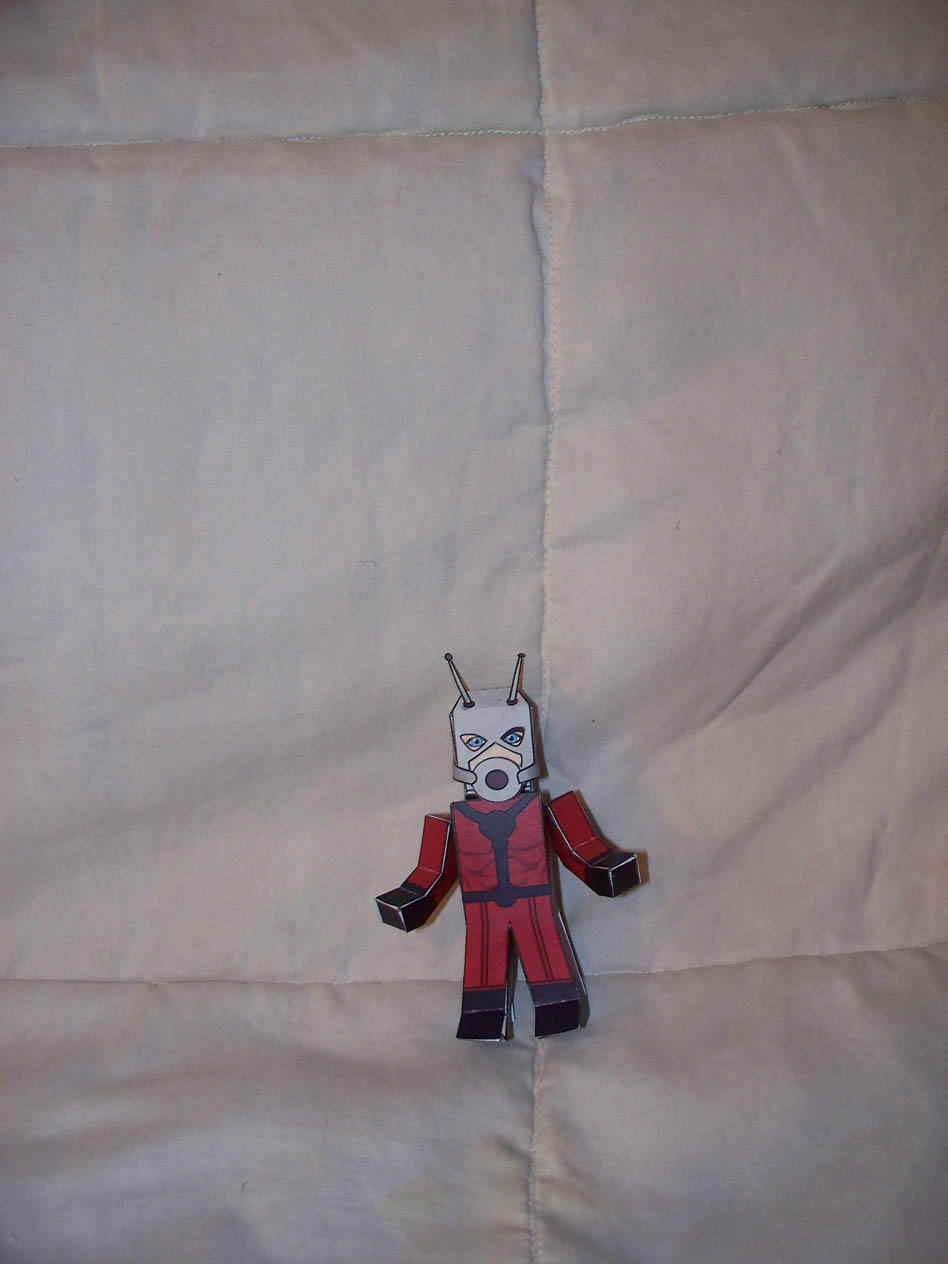 Ant Man paper hero by SharkBomb