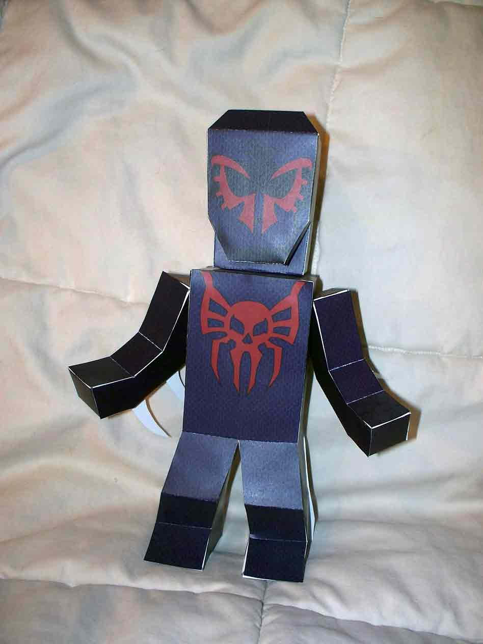 Spider-Man 2099 paper hero by SharkBomb