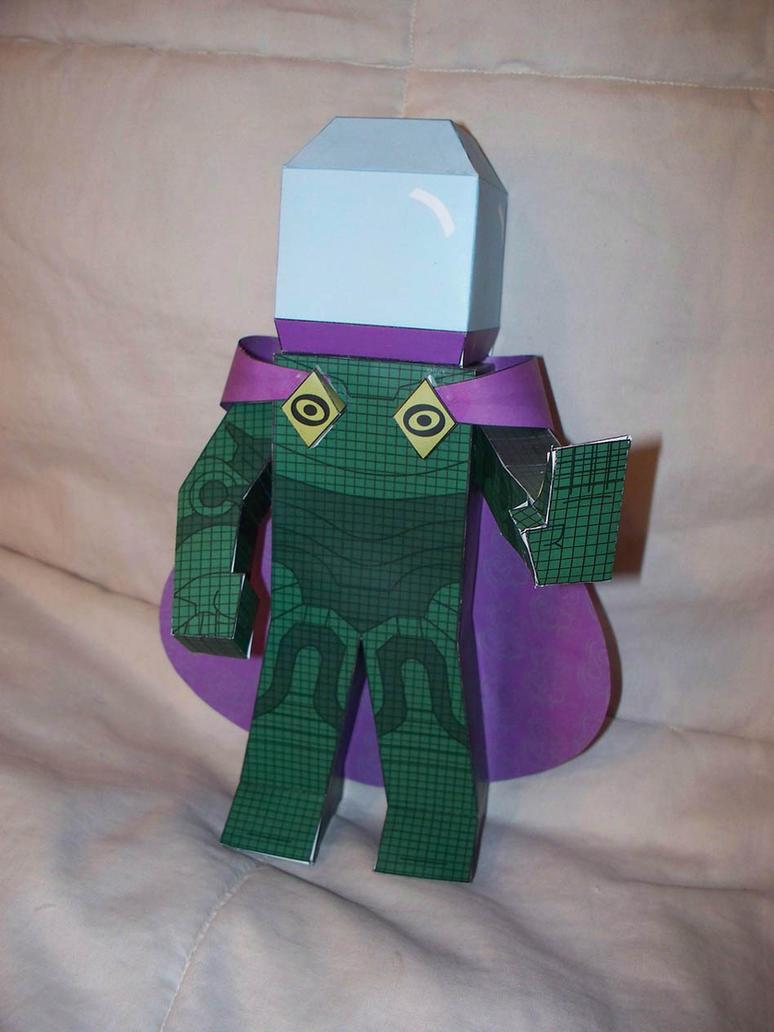 Mysterio Paper Hero by SharkBomb