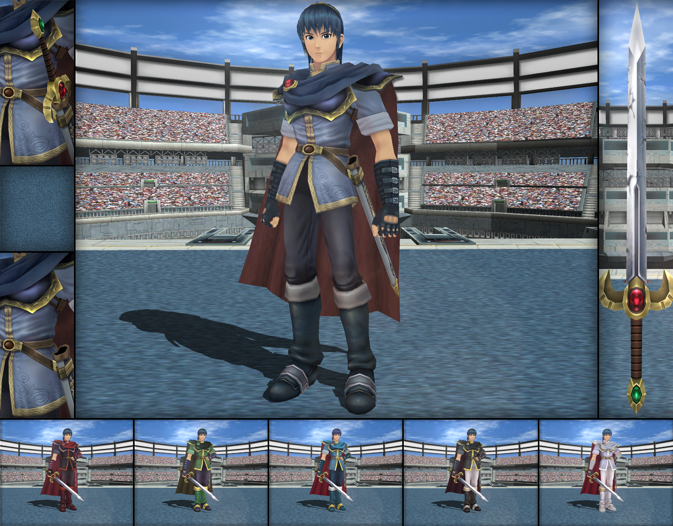MMD - Marth Colors Ver  02 by Rouzel on DeviantArt