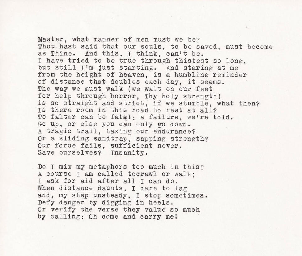 Alliterative Verse Experiment Religious Poem 1 By Studentofrhythm