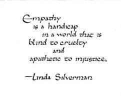 Silverman quote: empathy