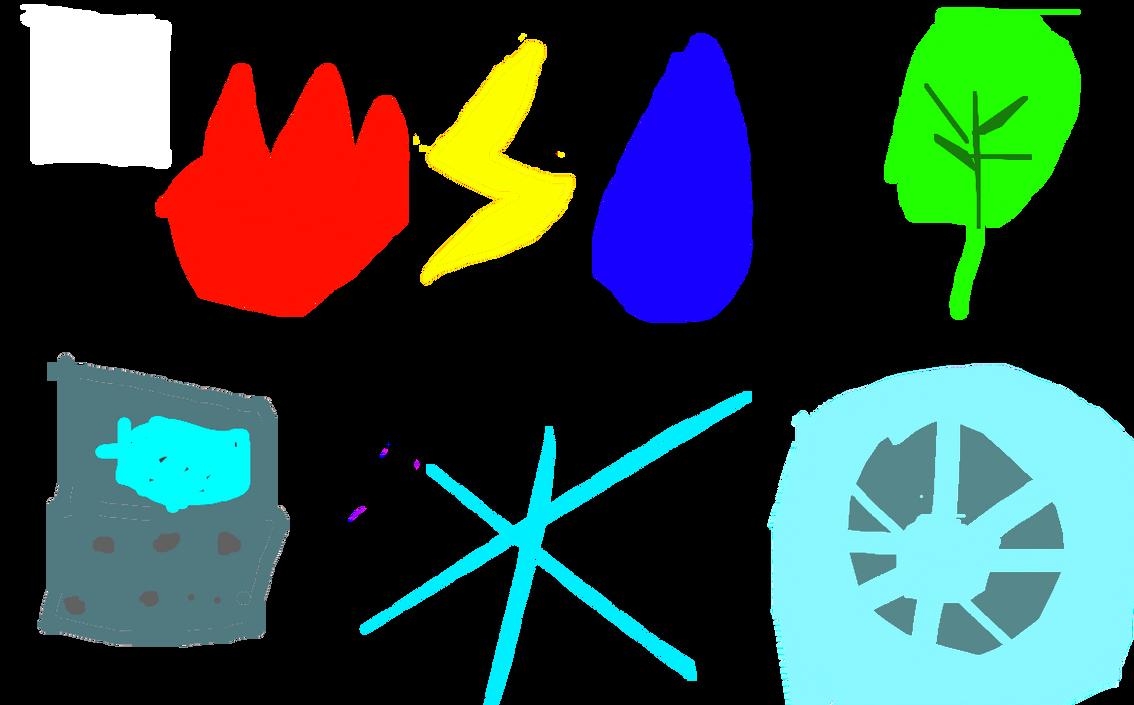 Neova Gym Badges by Oobemu