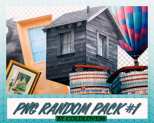 PNG Random Pack #1 by ColdLove98