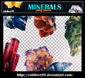 Minerals Png's Pack   ColdLove98