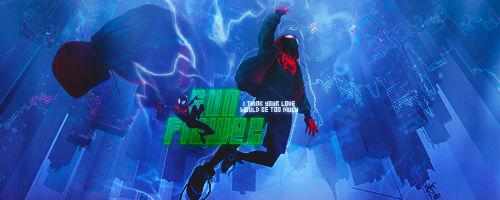 Spiderman: Into The Spider-Verse   Signature GIF