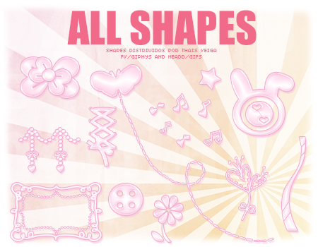 Todos os shapes cutes by giphys