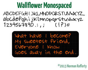Wallflower Monospaced