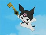 Kuromi Attack-animated gif