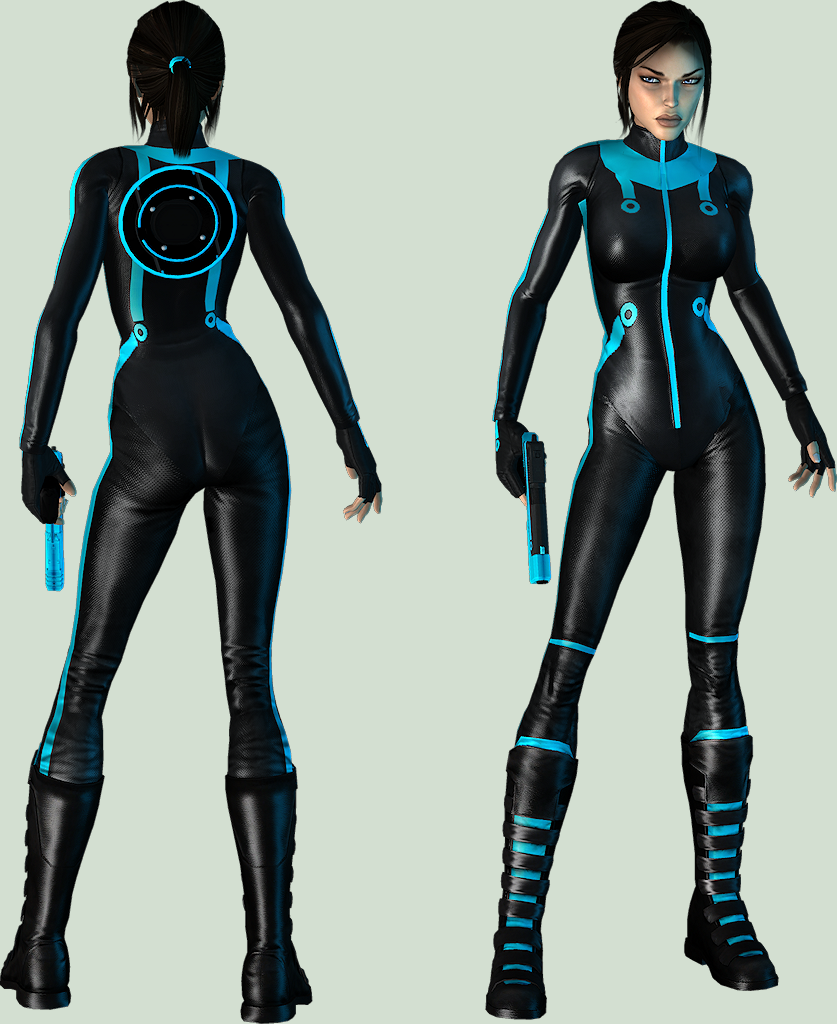 Lara Croft: TRON by legendg85