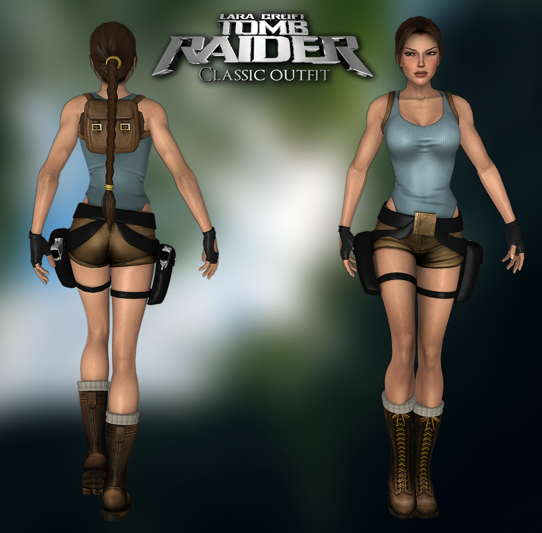 Tomb Rider Wallpaper: TR The Last Revelation Outfit 2012 By Legendg85 On