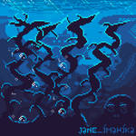 Under the Ocean - Pixel Art Animation (WM) by Imahika