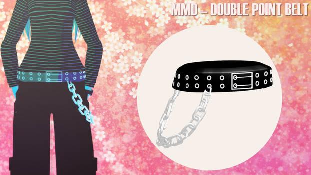 [MMD] Double point Belt [DL]