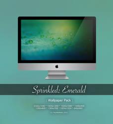 Sprinkled: Emerald Wallpaper Pack by CayaStrife