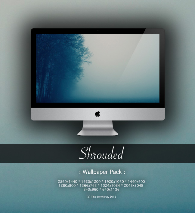 Shrouded - Wallpaper Pack