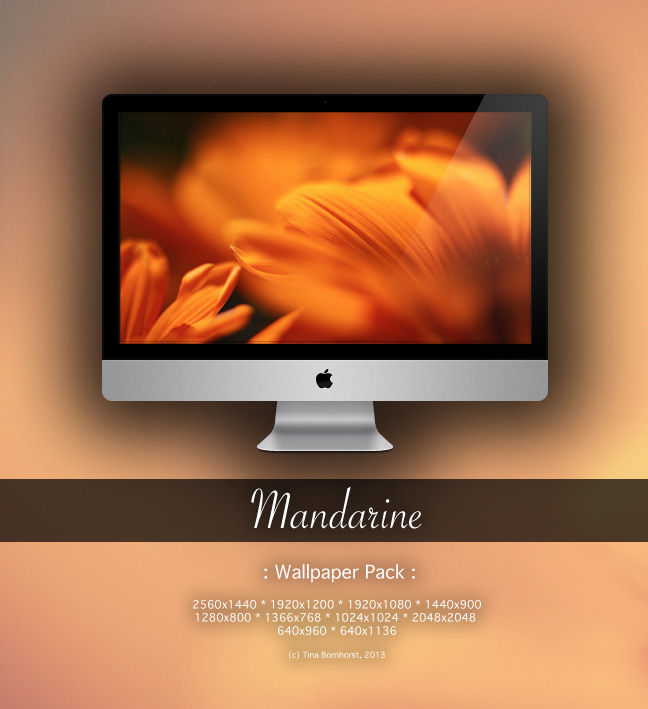 Mandarine -Wallpaper Pack- by CayaStrife