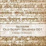 Ischarm Old Script Brushes 001