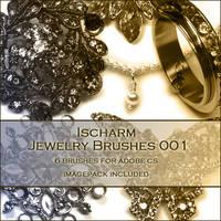 Ischarm Jewelry Brushes 001 by ischarm-stock