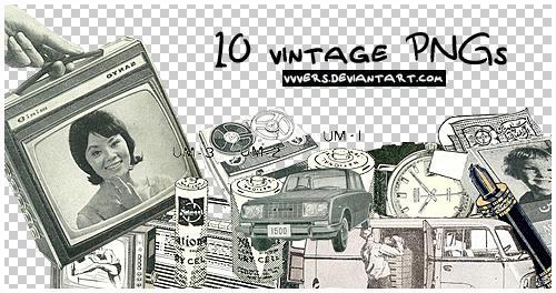 10_vintage_pngs_by_vers by vvvers