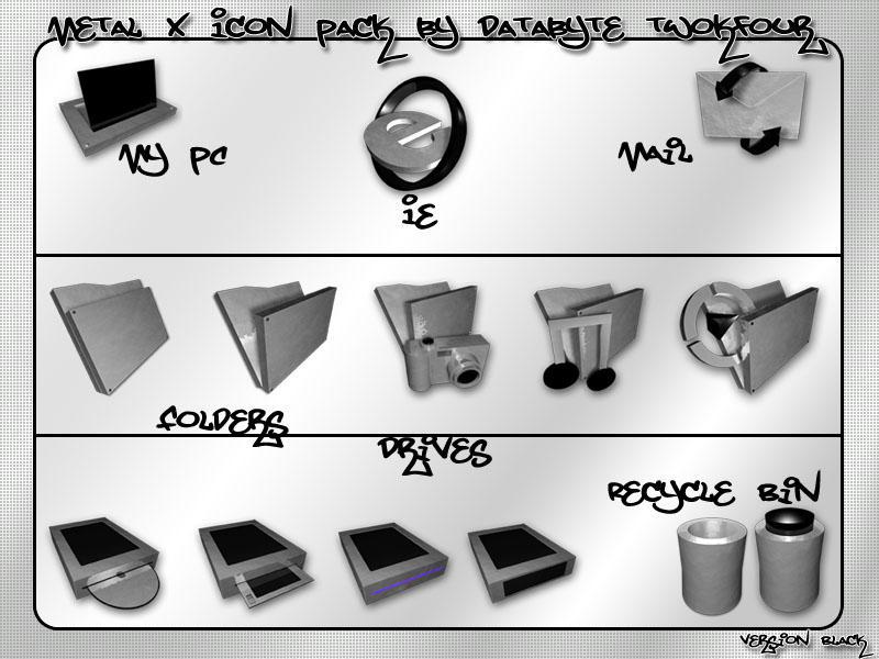 Metal X 2.0 Version Black by d8abyte