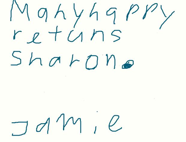 a birthday card for Sharon. by sailorcancer01
