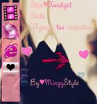 Skin Xwidget SlidePink by MinzyStyle
