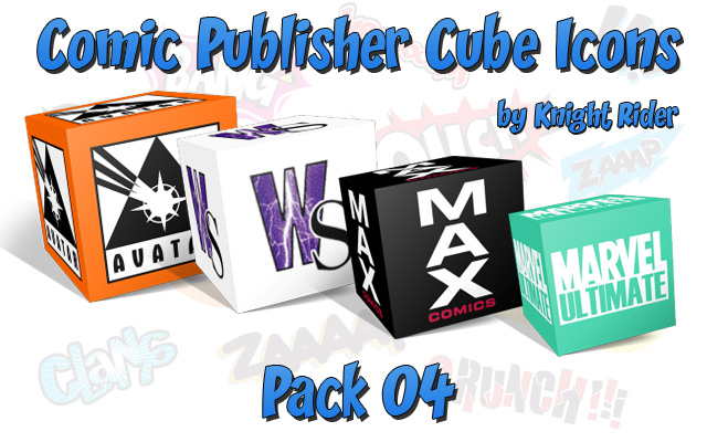 Comic Publisher Cube Icons-04 by KnightRider-SQ on DeviantArt