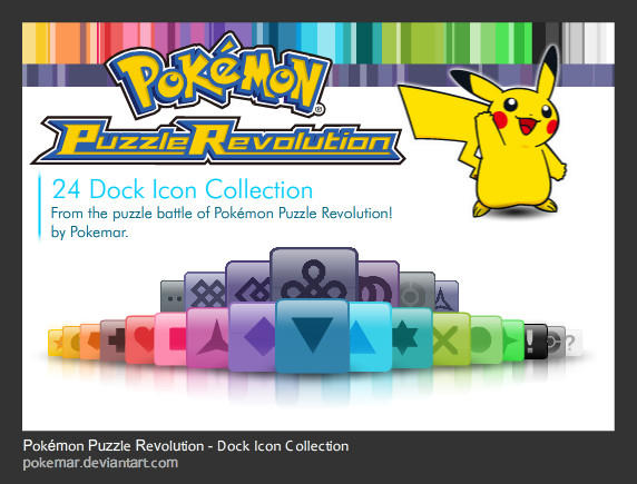 PPR - Dock Icon Collection by pokemar