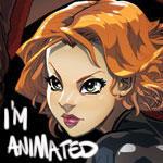 Avengers - Widow - animated GIF slide