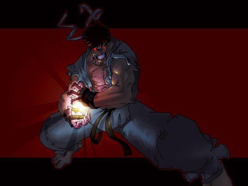 Wallpaper Request Evil Ryu By Thechamba On Deviantart