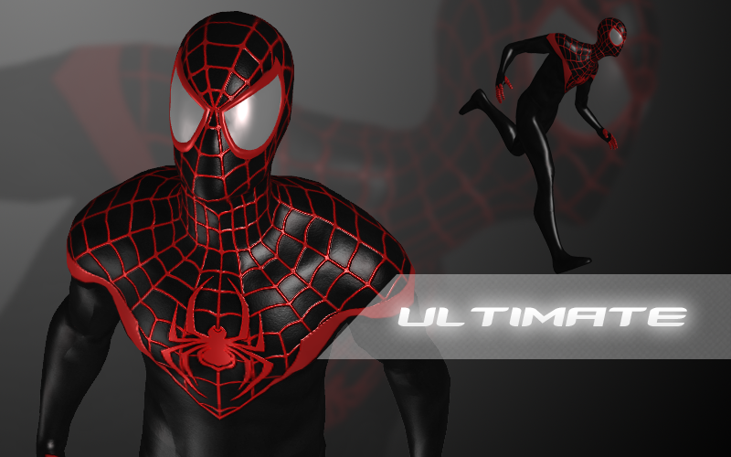 The Amazing Spider Man Ultimate Miles Morales By Xnasyndicate On