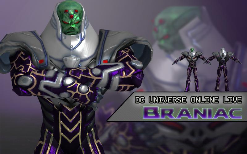 DC Universe Online Live: Brainiac by XNASyndicate