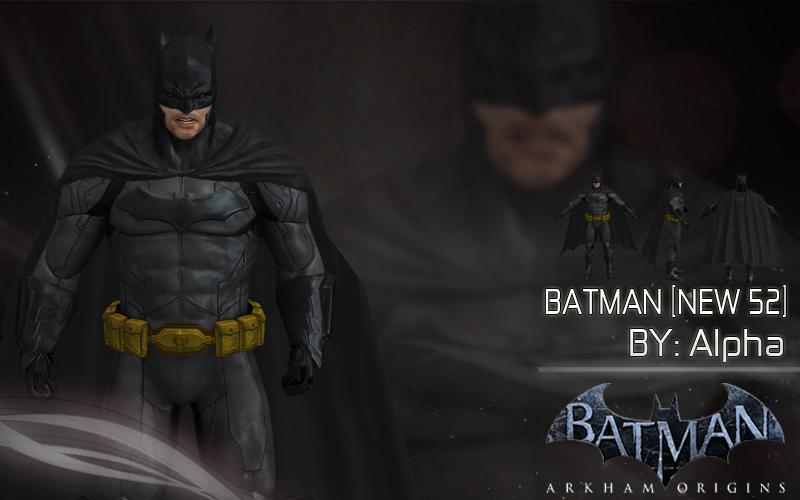 Batman Arkham Origins: New 52 Batman [iOS] by XNASyndicate