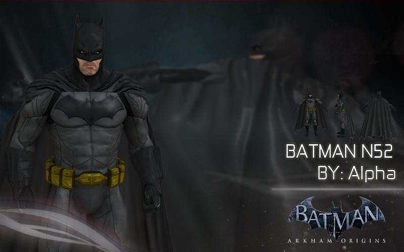 Batman Arkham: Origins - N52 Console by XNASyndicate
