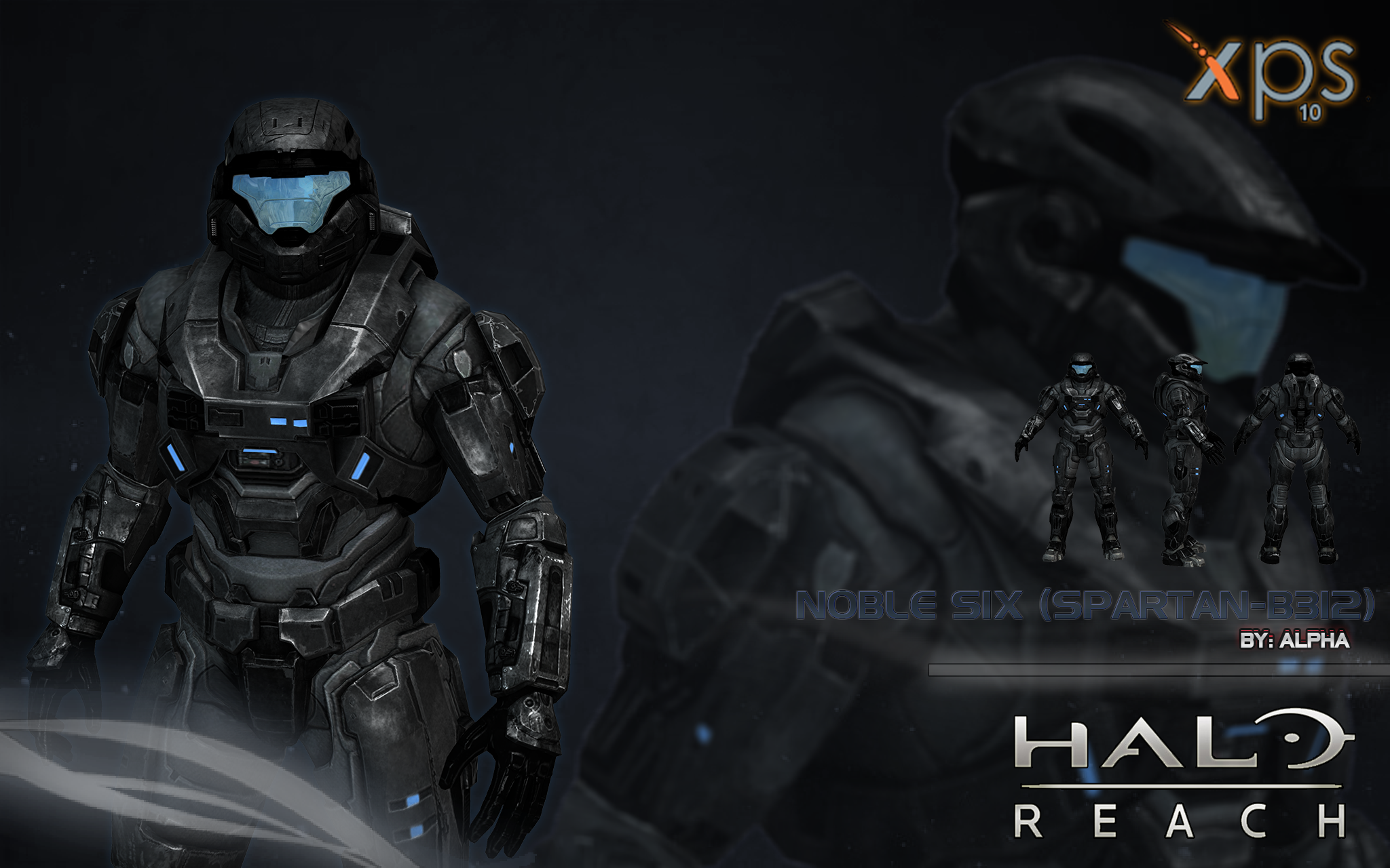 Halo Reach: Noble Six by XNASyndicate on DeviantArt