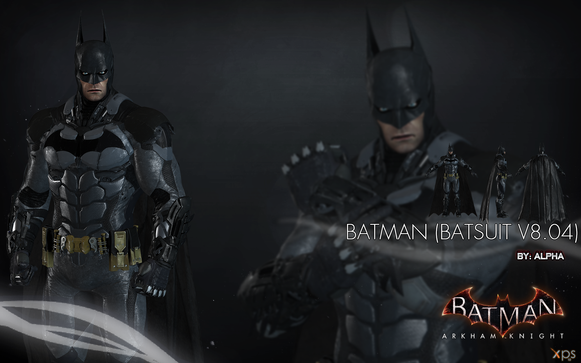 batman arkham knight batman batsuit v804 by