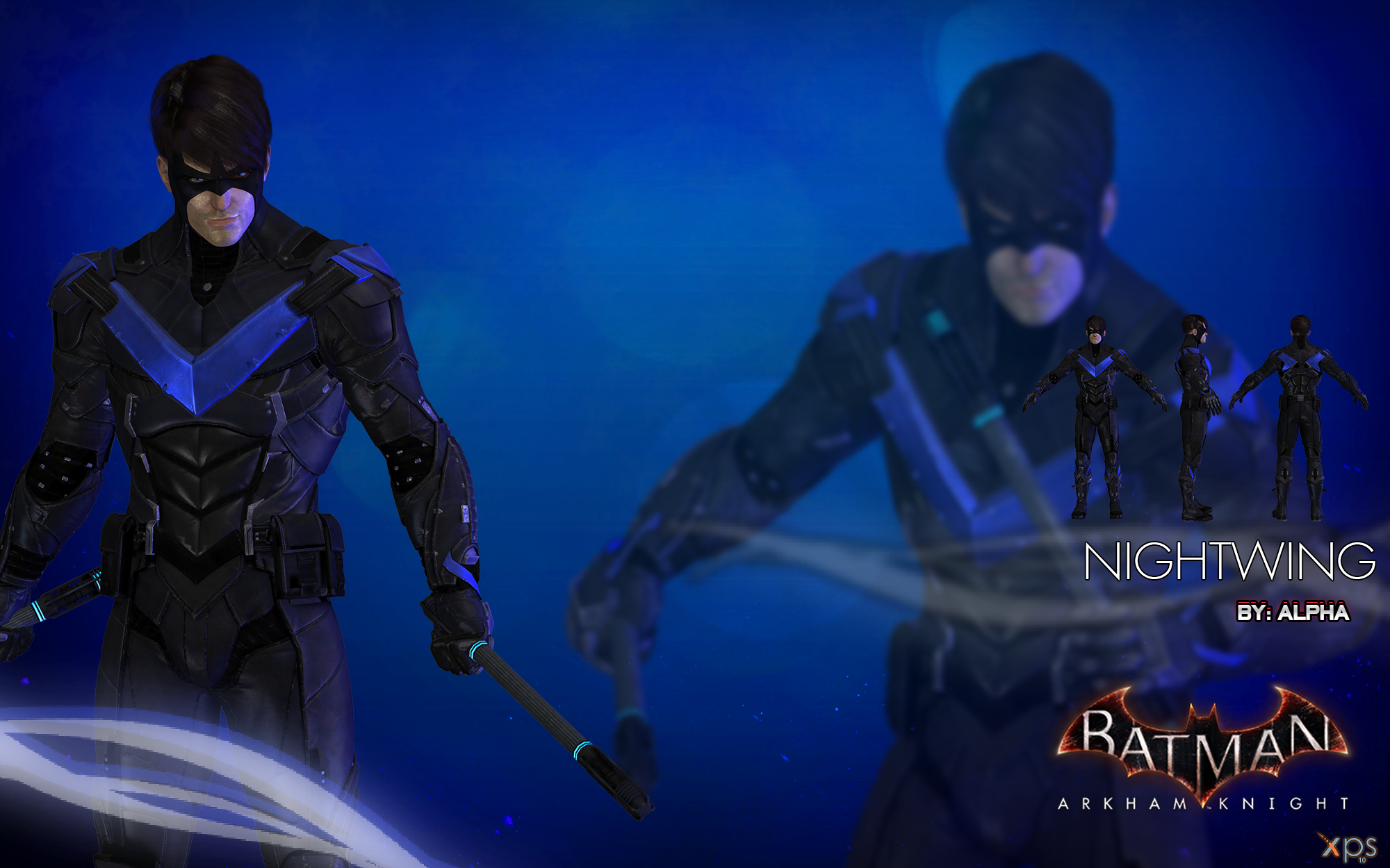 Batman arkham knight nightwing by xnasyndicate on deviantart batman arkham knight nightwing by xnasyndicate buycottarizona Choice Image