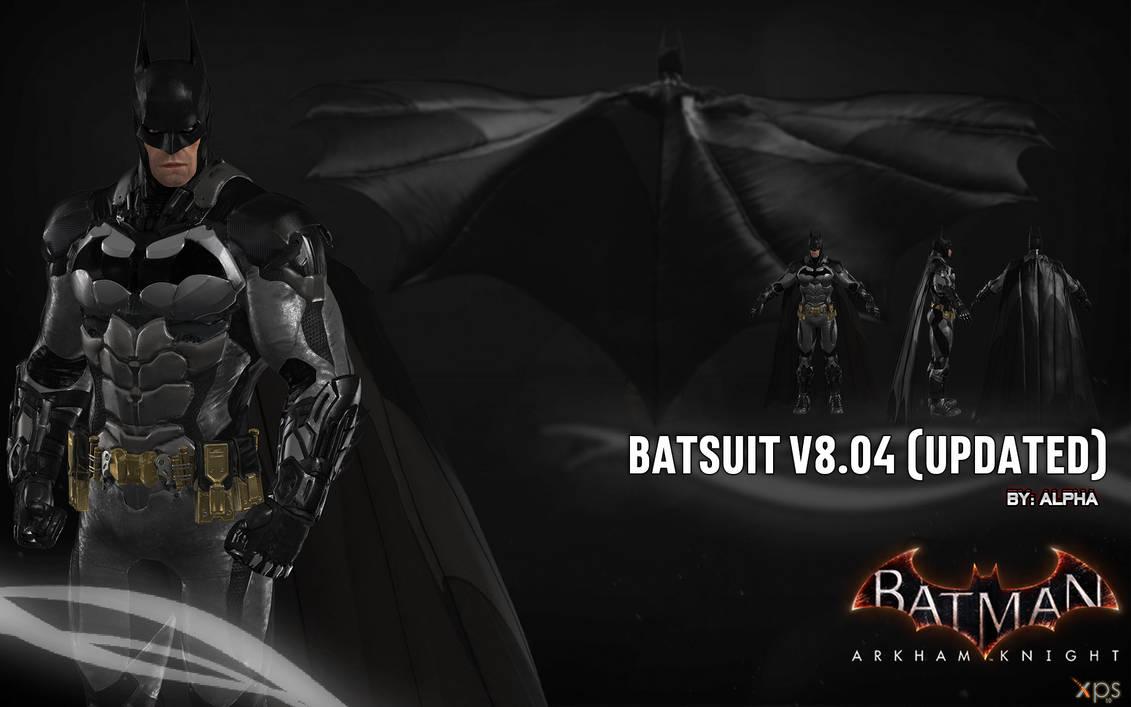 Batman Arkham Knight V8.04 [UPDATED] Minecraft Skin