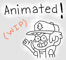 Dip animated! (wip) by Estefanoida