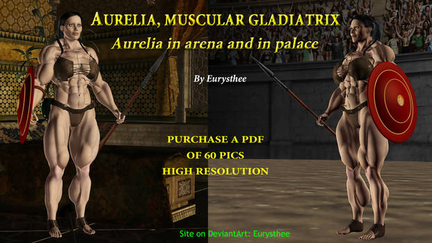 Aurelia muscular gladiatrix, in arena and in palac