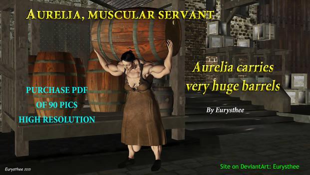 Aurelia carries huge barrels