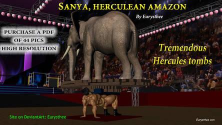 Sanya, tremendous Hercules tombs