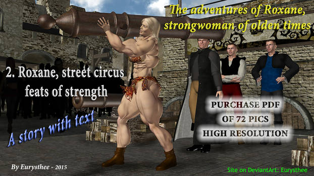 Roxane, street feats of strength