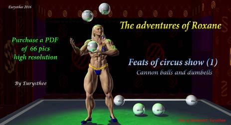 Roxane, feats of circus show -1