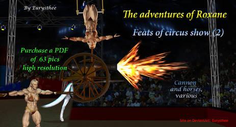 Roxane feats of circus show -2