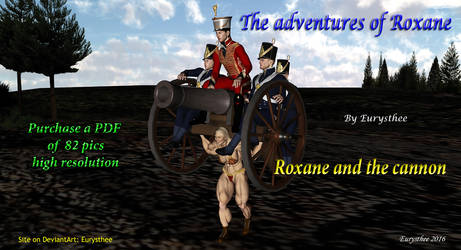 Roxane and the cannon