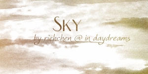 Sky Brushes by Riekchen