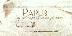 Paper Brushes by Riekchen