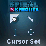 Spiral Knights Cursor Set by TrishRowdy