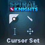 Spiral Knights Cursor Set by TrishRowdy